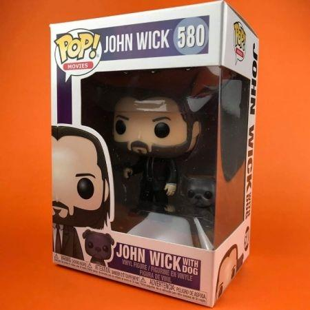 Funko POP John Wick with Dog 580