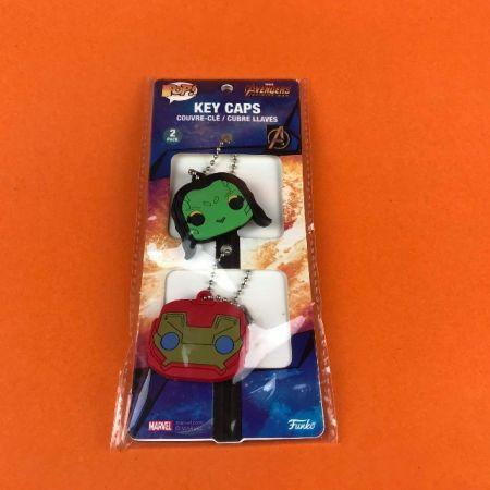 Funko POP Key Caps Avengers Infinity Wars Gamora & Iron Man Marvel Collector Corps Exclusive