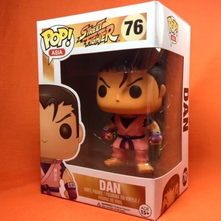 Funko POP Street fighter-Dan 76