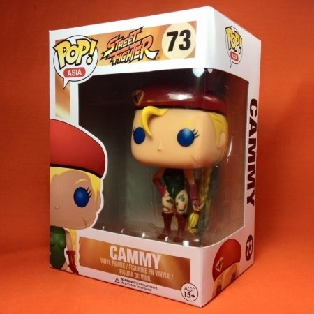 Funko POP Street fighter- Cammy 73