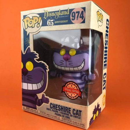 Funko POP Cheshire Cat Disneyland 65th Anniversary Exclusive 974
