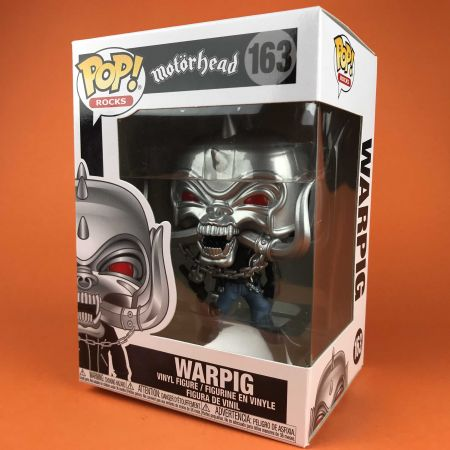 Funko POP Warpig (MT) Motorhead 163