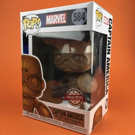 Funko POP Captain America Marvel Exclusive 584