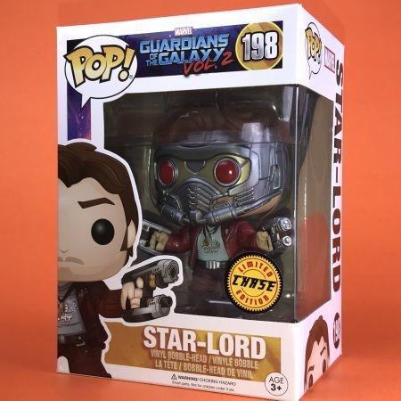Funko POP Star - Lord Guardians Of the Galaxy Vol.2 Chase 198