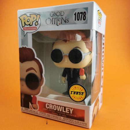 Funko POP Crowley Chase Good Omens 1078