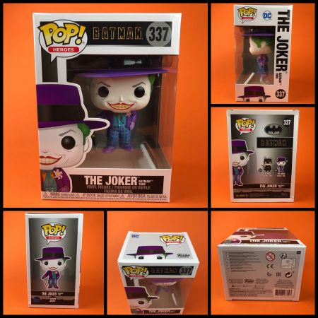 ( กล่องบุบ) Funko POP The Joker Batman 1989 337