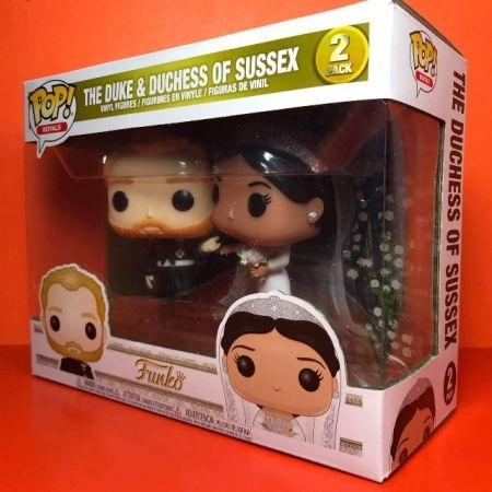 Funko POP The Duke & Duchess Of Sussex Royals 2 Pack