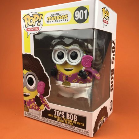 Funko POP 70' S Bob Minions the Rise of Gru 901