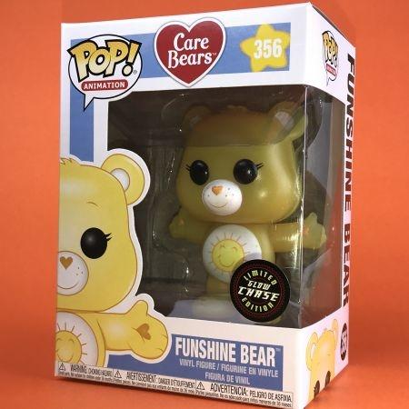 Funko POP Funshine Bear Chase Glitter : Care  Bear 356