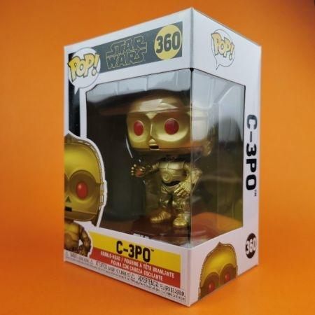 Funko POP Rise Of Skywalker C-3Po Red Eyes Star wars 360