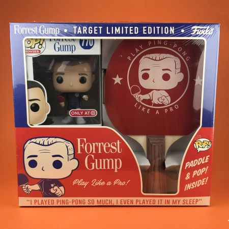 Funko POP Forrest Gump Target Limited Edition Play Ping Pong Like a pro