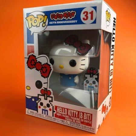 Funko POP Hello Kitty (8Bit )Sanrio Hello Kitty 45Th Anniversary 31