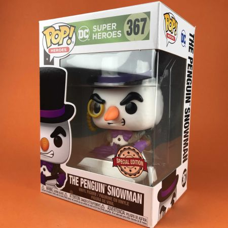 Funko POP The Penguin Snowman : DC Holiday 367