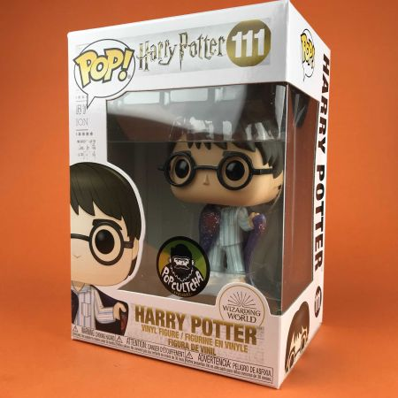 Funko POP Harry Potter With Invisibility Harry Potter Popculctha Exclusive 111