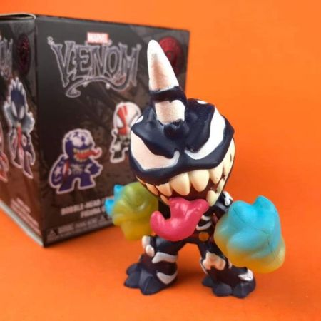 Funko Mystery Minis Venomized Captain Marvel Glow in the Dark