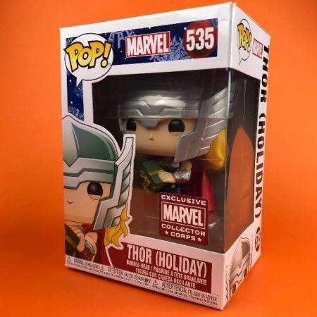 Funko POP Thor Holiday Marvel Collector Corps Exclusive  535
