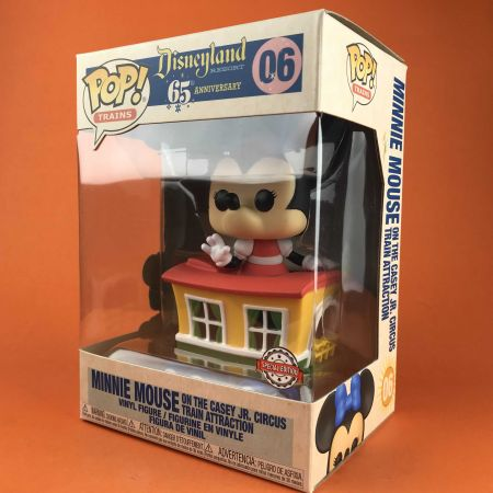 Funko POP Minnie Mouse on the Casey Jr. Circus Train Attraction Disneyland 06