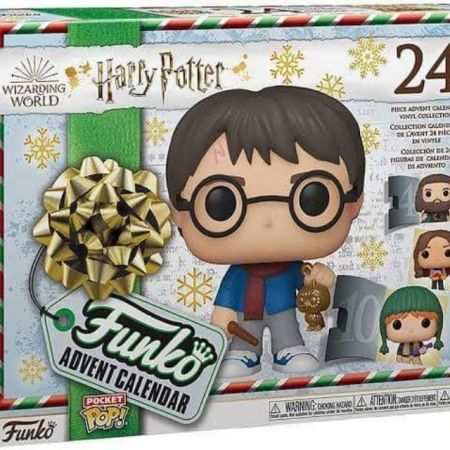 Funko Pocket POP Advent Calendar 2020 Harry Potter Version 3-24 pack set