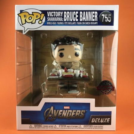Funko POP Bruce Banner Victory Shawama Diorama Avengers Deluxe Exclusive