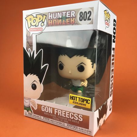 Funko POP Gon Freecss HunterXHunter Hot Topic Exclusive 802