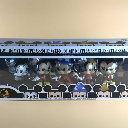Funko POP Mickey Mouse :  50th Anniversary Walt Disney Archives 5 pack
