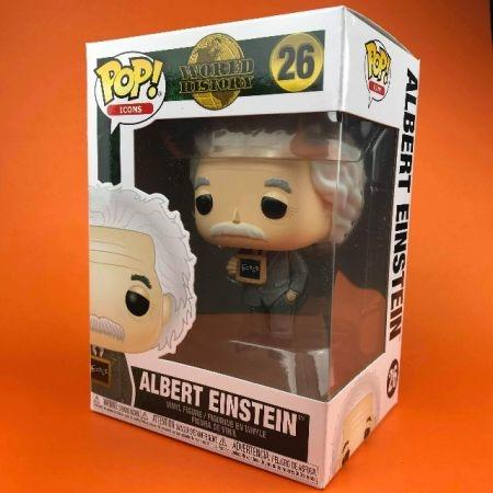 Funko POP Albert Einstein World History 26