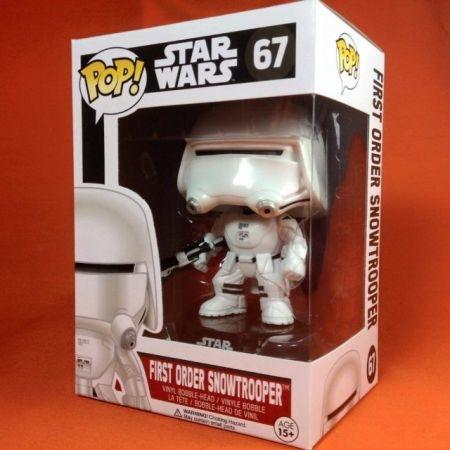 Funko POP First Order Snowtrooper 67