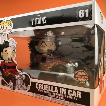 Funko POP Cruella De Vil in Car 101 Damatians 61
