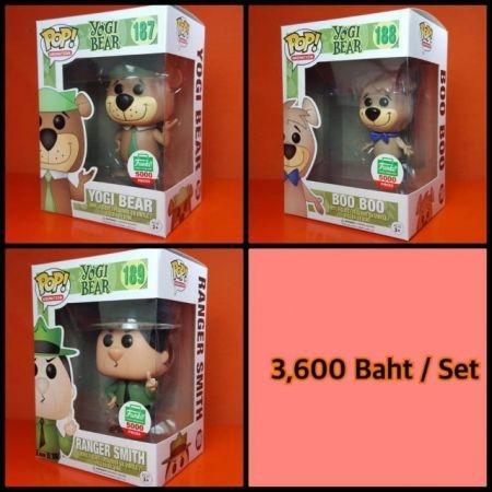 Funko POP Set Yogi Bear 187/188/189