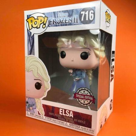 Funko POP Elsa with Salamander Disney Frozen 716