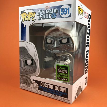 Funko POP Doctor Doom Fantastic Four ECCC 2020 591