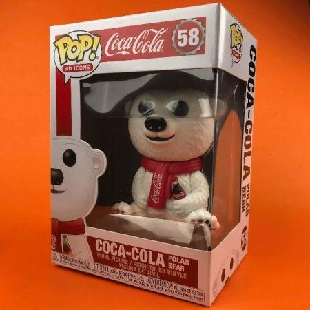 Funko POP Coca Cola Polar Bear Coca Cola 58