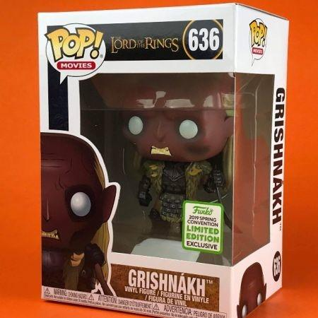 Funko POP Grishnakh - The Lord Of The Rings Limited Edition  ECCC 636