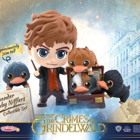 Cosbaby Newt Scamander and Baby Niffler Fantastic Beasts: The Crimes Of Grindelwald