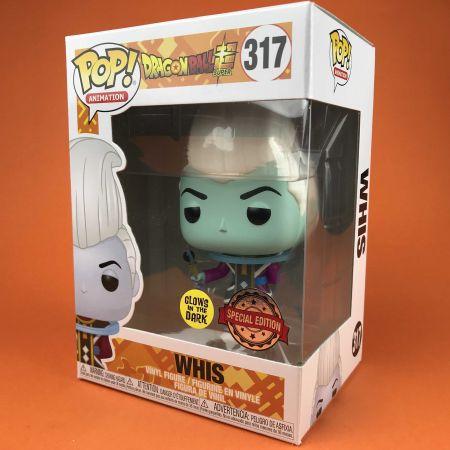 Funko POP Whis Dragon Ball Super Glows in the Dark Exclusive 317