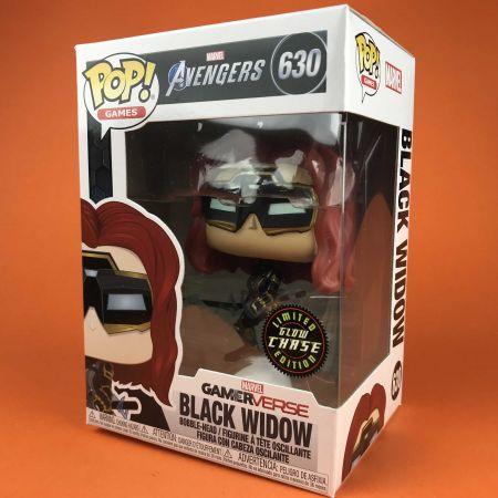 Funko POP Black Widow Gamerverse Avengers Glow in the Dark Chase 630
