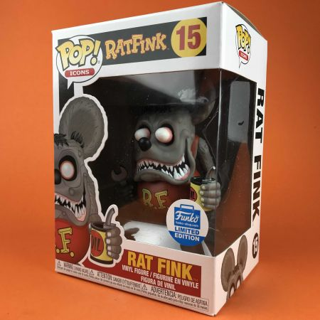 Funko POP Rat Fink Ratfink Limited Edition 15