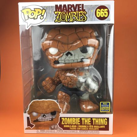 "Funko POP Zombie The Thing 10"" SDCC 2020"