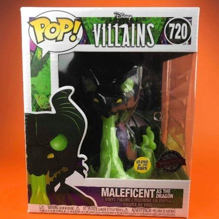 Funko POP Maleficent Dragon Glow in the Dark 6 Super size Sleepy Beauty 720