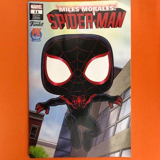 Funko Spider - Miles Comic Book Spider into Spider-verse