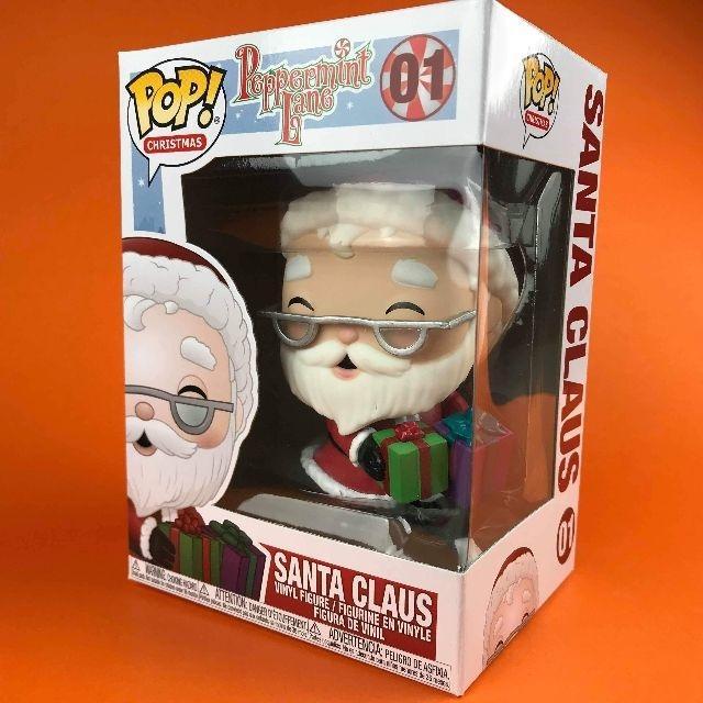 Funko POP Santa Claus Christmas Peppemint Lane 01