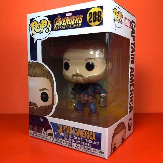 Marvel Avengers Heroes Funko POP 288 Captain America