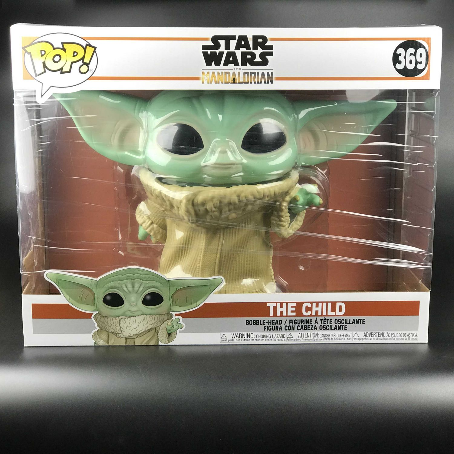 "Funko POP The Child Mandalorian Yoda Star Wars 10"" 369"