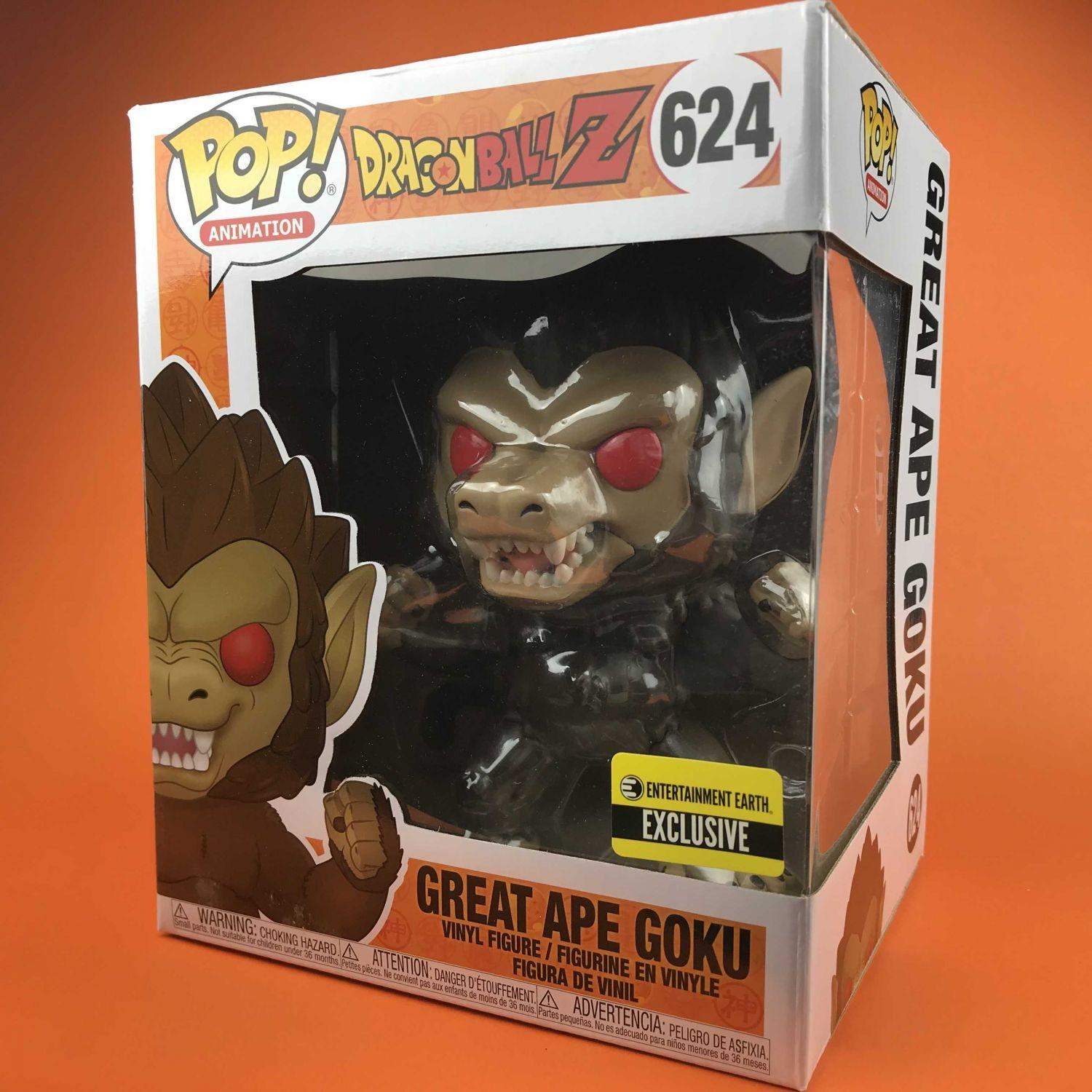 "Funko POP Great Ape Goku Dragon Ball Z (Exclusive) 624 (6"")"