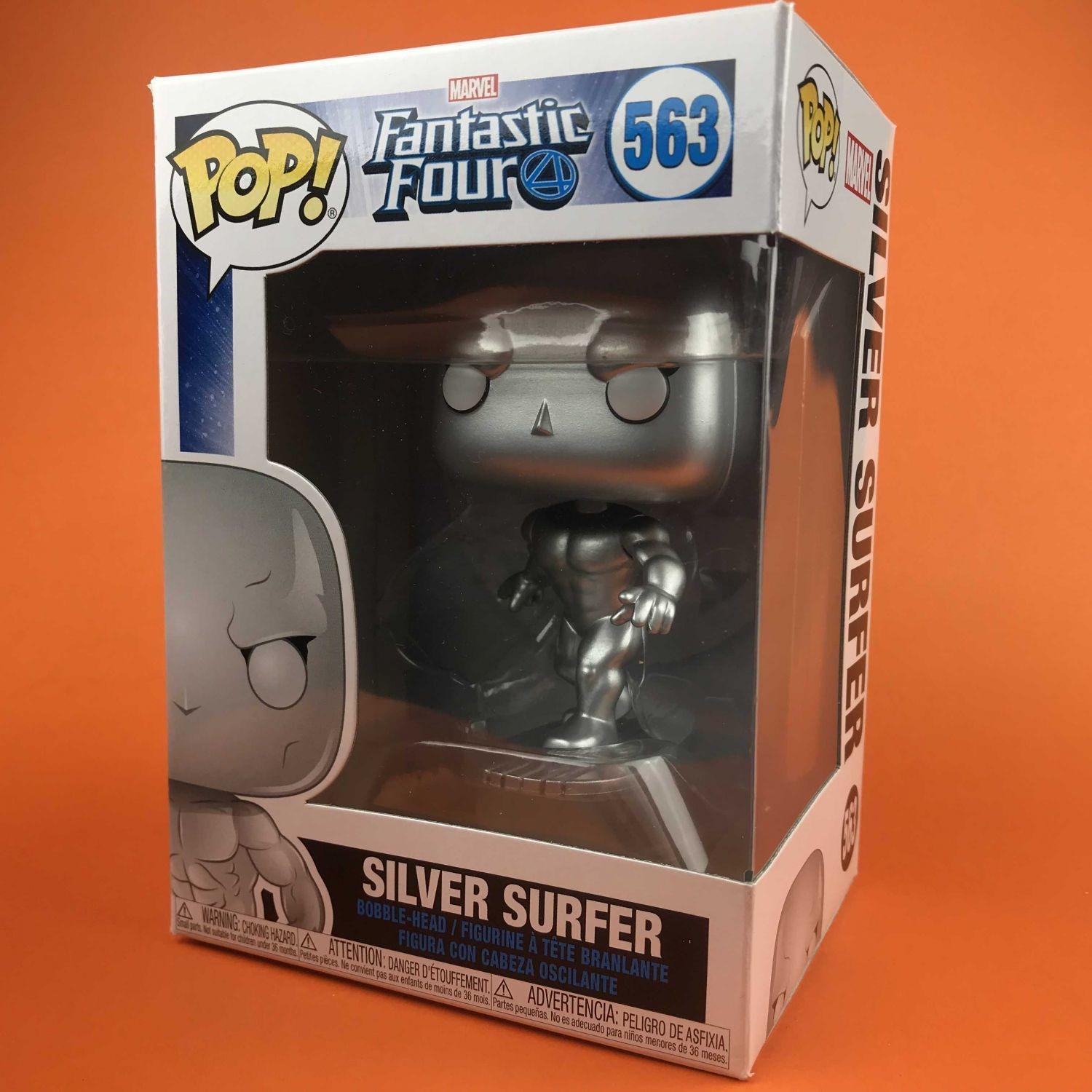 Funko POP Silver Surfer : Fantastic Four 563