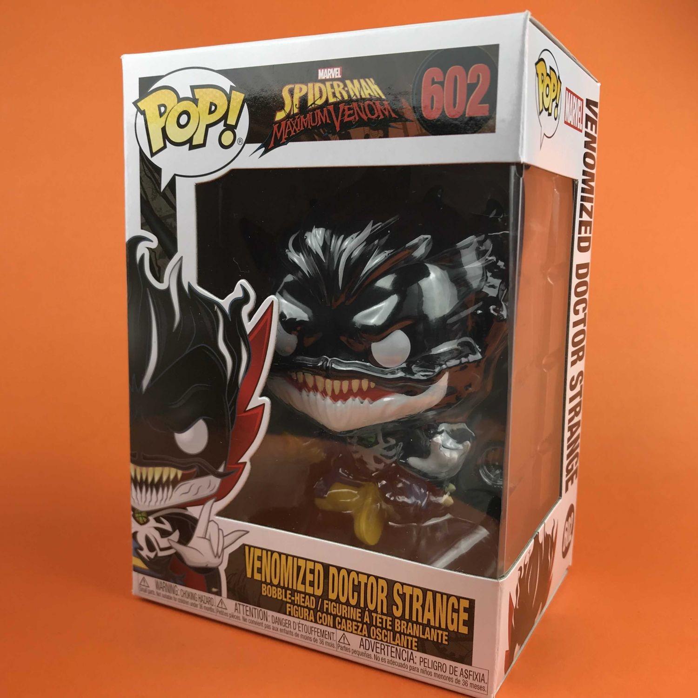 Funko POP venomized Doctor Strangs Spider Man Maximum 602