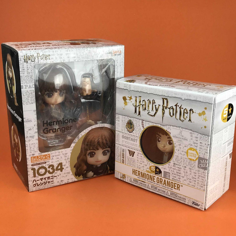 Promotion Duo Set Nendoroid Hermione Granger Harry Potter 1034 + Funko 5 Star Harry Potter : Hermione Granger