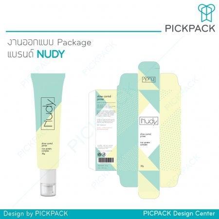งานออกแบบ Package แบรนด์ NUDY