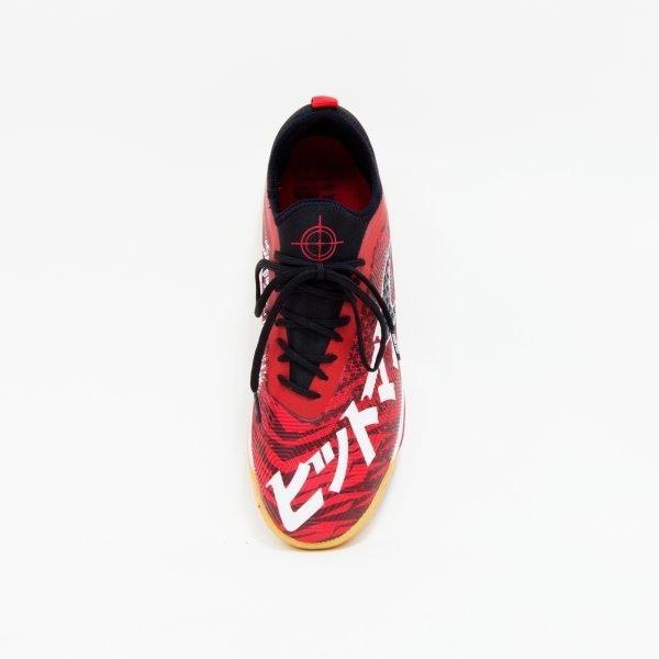 รองเท้าฟุตซอลแกรนด์สปอร์ต รุ่น Hitman รหัส :337014 (สีแดง)