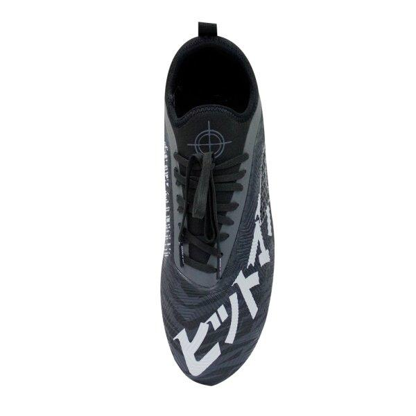 รองเท้าฟุตบอล HITMAN (สีดำ) รหัส 333090